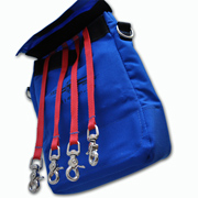 Tool Control Pouch with Lanyards
