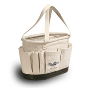 Splicers Tool Bucket W/OS & IS Pockets Plus Hard Body
