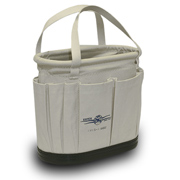 "Splicers Tool Bucket W/OS & IS Pkts Plus Hard Body - 11"" High"