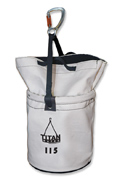 Titan Rated Canvas Bucket with Hook & Loop Closure