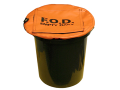 Secure Bucket Cover w/ Flap Top, Large