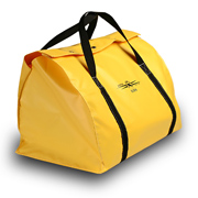 Ground Set Bag, Heavy Duty Yellow Vinyl, Snap Top Closure