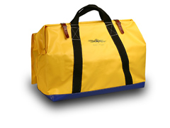 "Tool Bag 24"" W/Heavy Weight Vinyl Coated Nylon, Yellow"